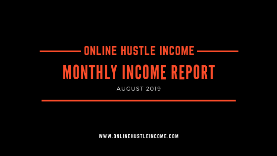 Monthly income report august 2019