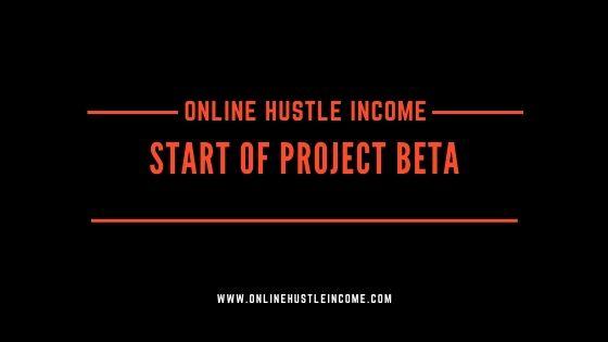 Start of project beta